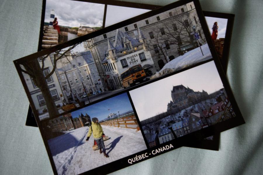 Carte postale de Quebec avec l appli de cartes postales en ligne MyPostcard