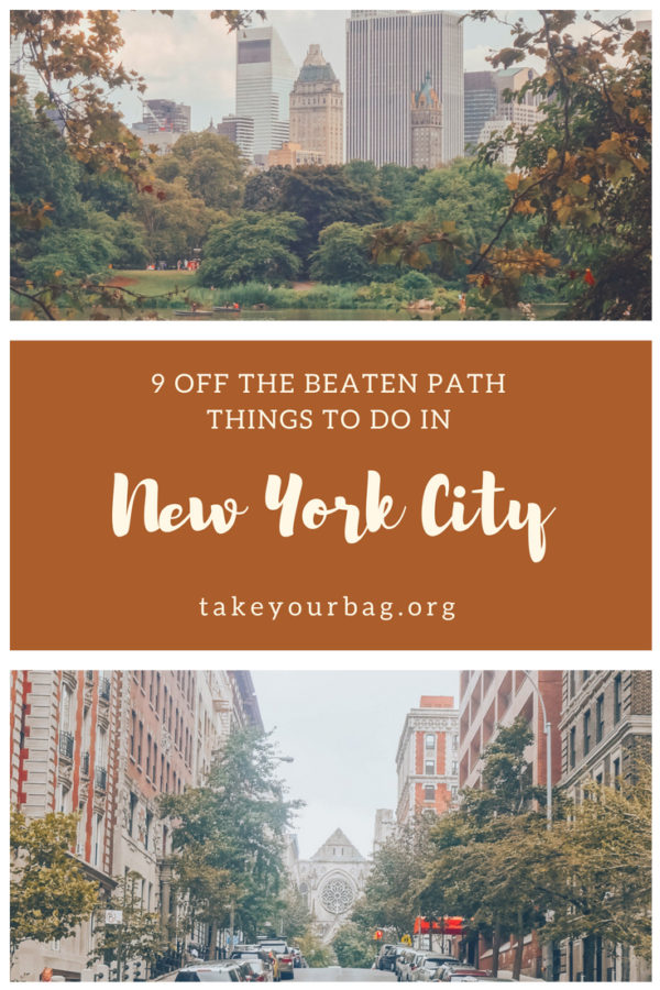 NYC off the beaten path | Discover the quiet side of New York | Visit Greenwich Village | Grand Central Terminal and the beautiful New York Public Library #nyc #greenwich #thevillage #village
