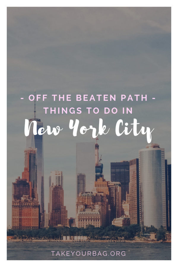 Off the beaten path new york | Visit New York City unusual places and discover another side of the city ! #nyc #newyork #usa