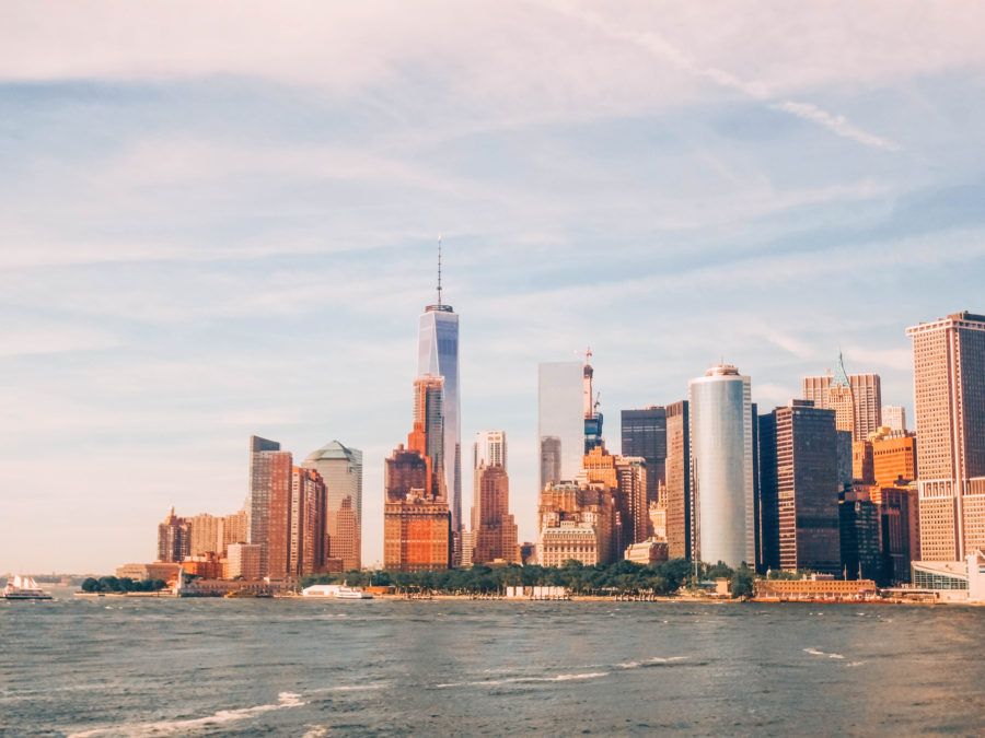 Off the beaten path things to do in NYC Watch New York from the ferry to NJ