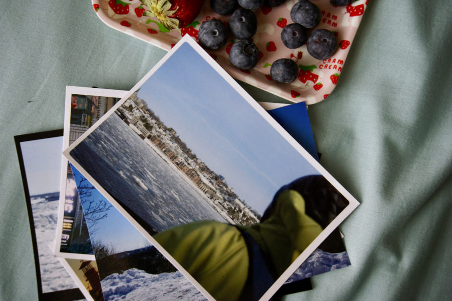 Simone à Quebec en carte postale Mypostcard