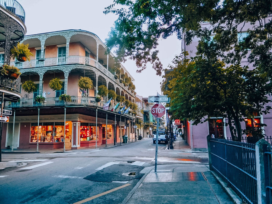 Itinerary USA road trip by bus - Streets of New Orleans