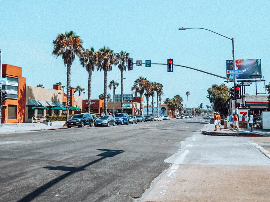 Itinerary USA road trip by bus - Streets of San Diego