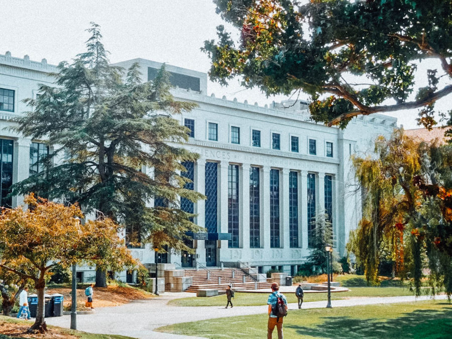 Itinerary USA road trip by bus - University of Berkeley, UC Berkeley