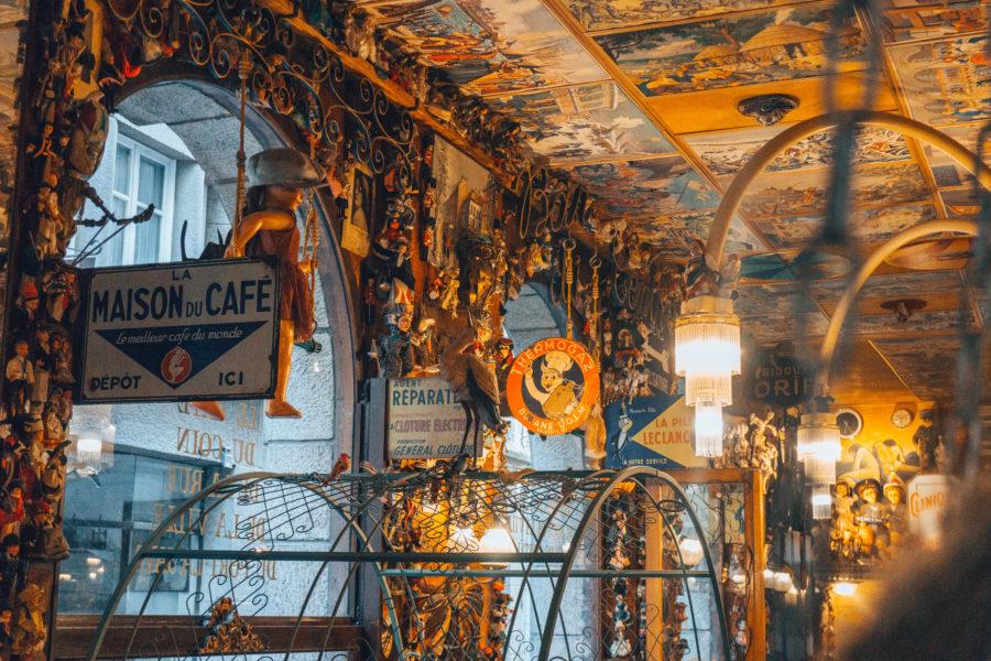 Un bar kitsch et rétro à Saint-Malo