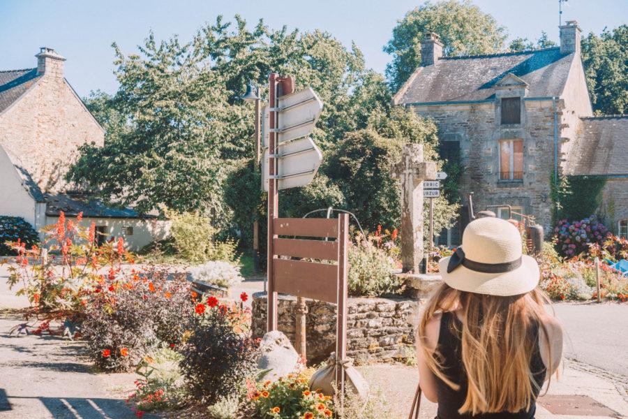 Le Gorvello, petit village visité pendant notre road trip en Bretagne