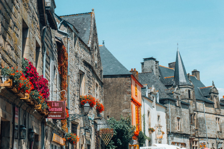 Gorgeous cities in Brittany: Rochefort-en-Terre