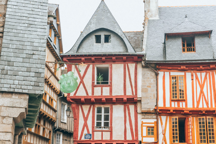 Ville de Vannes notre stop pendant notre road trip en Bretagne