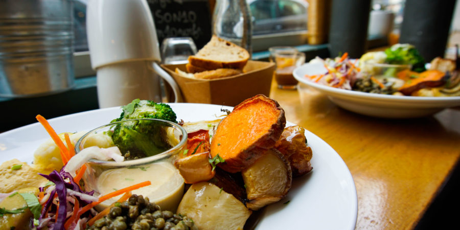 The Vegan Brunch salty dish at Pinson in Paris