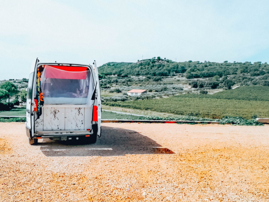 Our van trip all around France