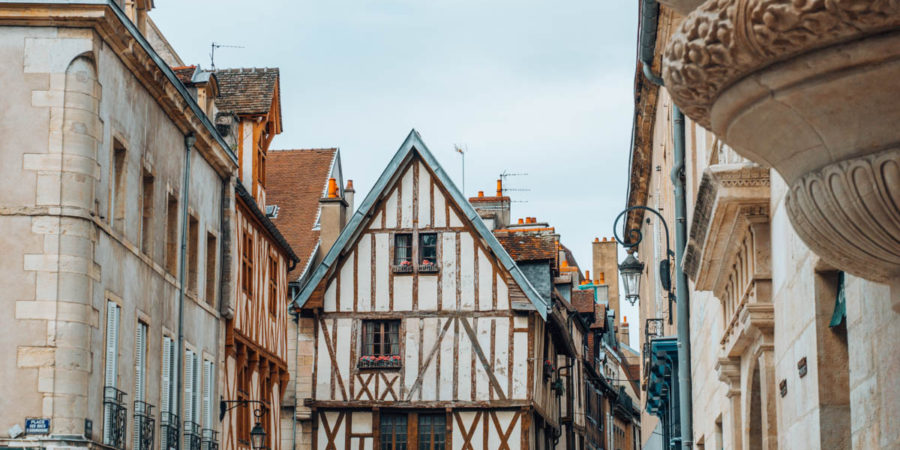 Gorgeous timbered house in the historical city center of Dijon