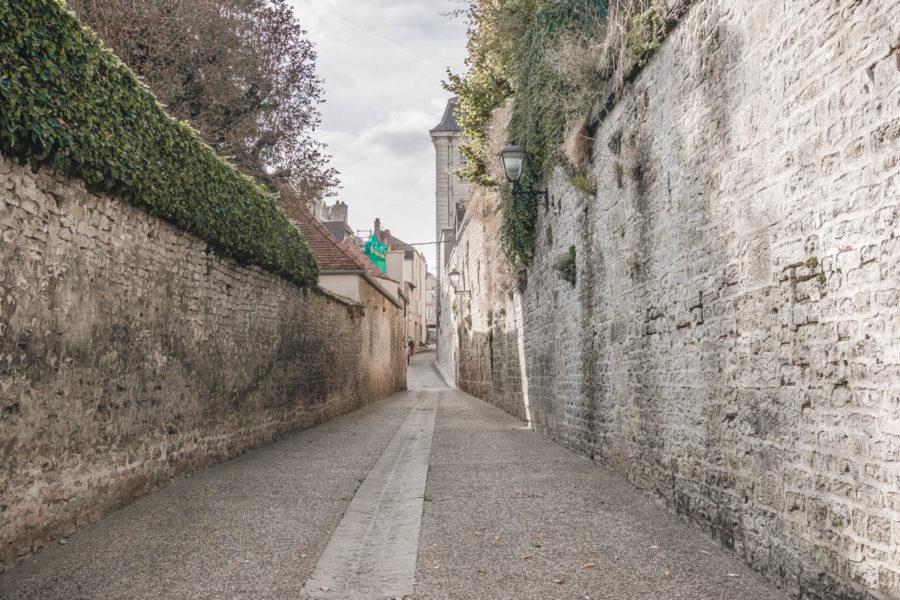Cute street of Langres