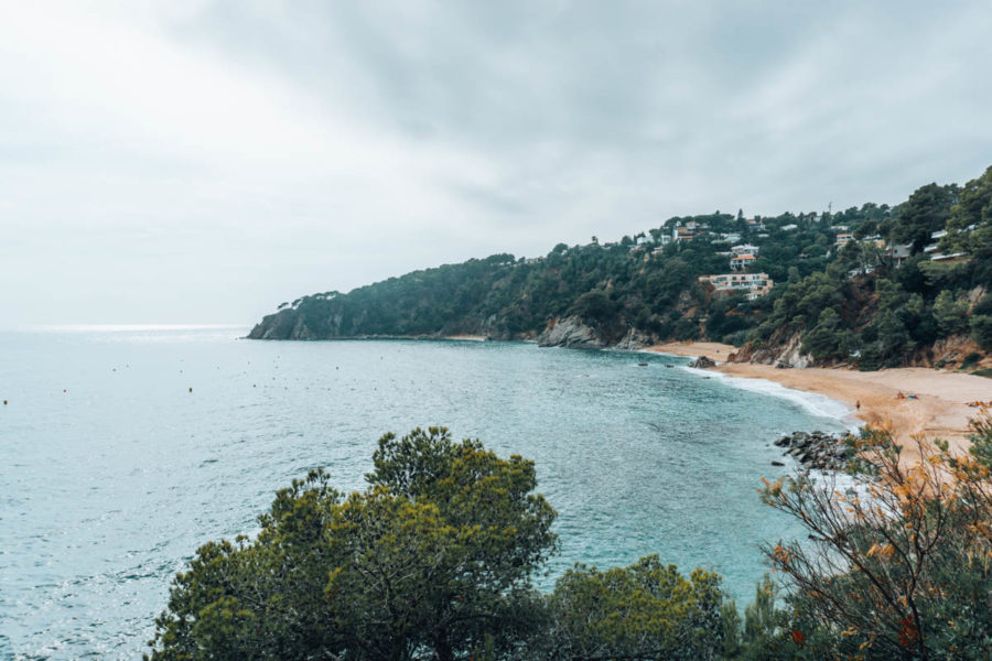 The sea in Tossa de Mar Spain