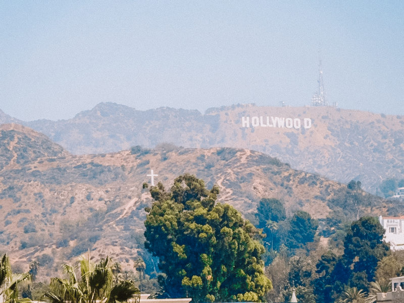 Los Angeles on our California Road Trip Itinerary