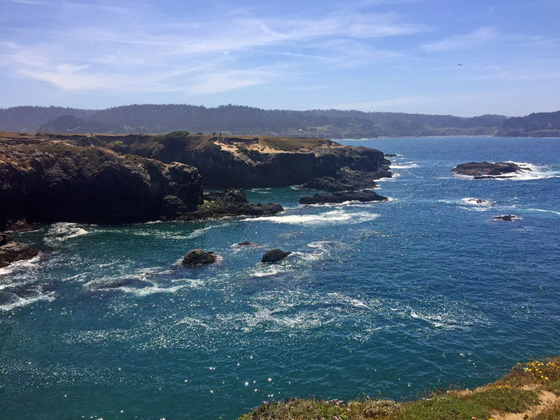Mendocino stop on our perfect California Road Trip Itinerary