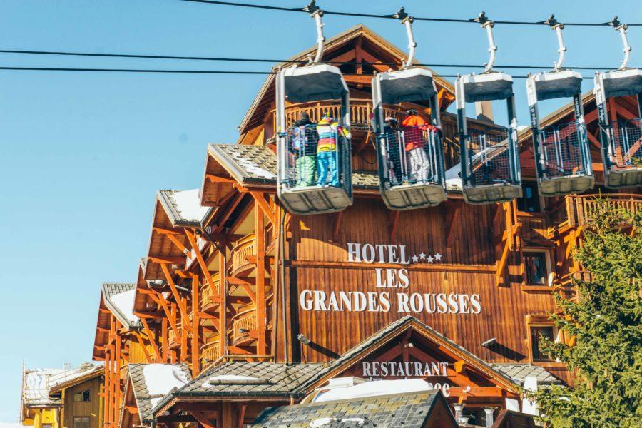 Alpe d Huez ski holidays-Hotel Grandes Rousses