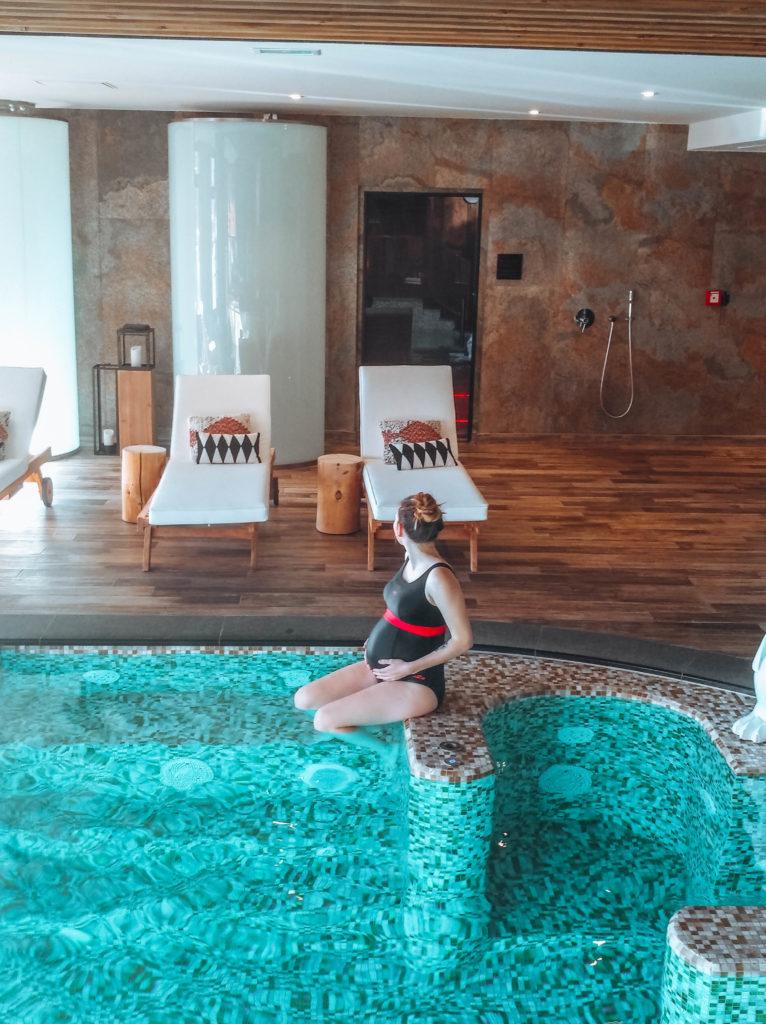 Alpe d'Huez ski holidays Spa des Alpes Hotel Grandes Rousses while pregnant