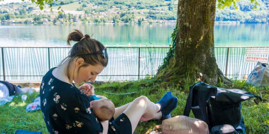 Escapade au lac de Paladru depuis Grenoble en famille
