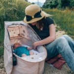 Our favorite travel bassinet: the Koo-di Pop Up Sun&Sleep [REVIEW]
