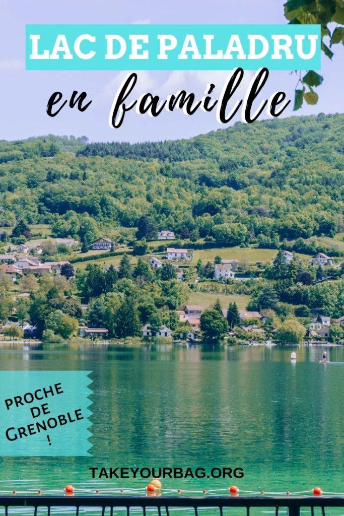 lac de Paladru en famille Pinterest