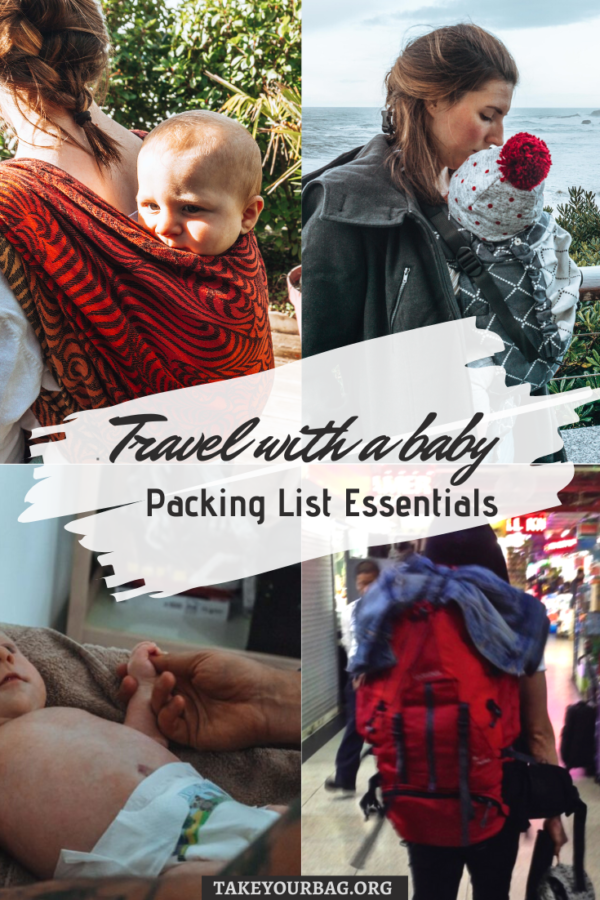 Traveling with an infant packing list essentials pinterest