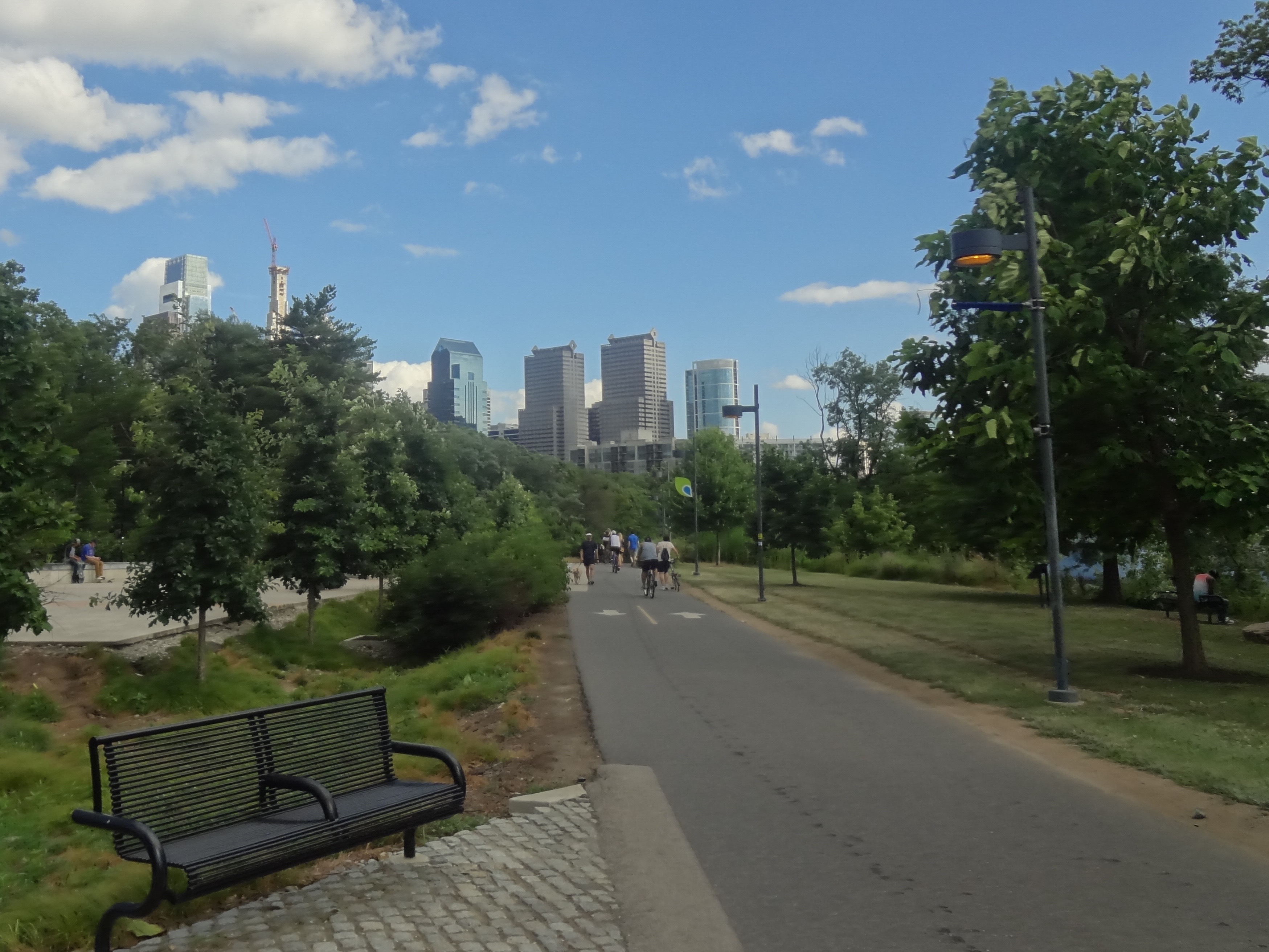 Philadelphia river trail