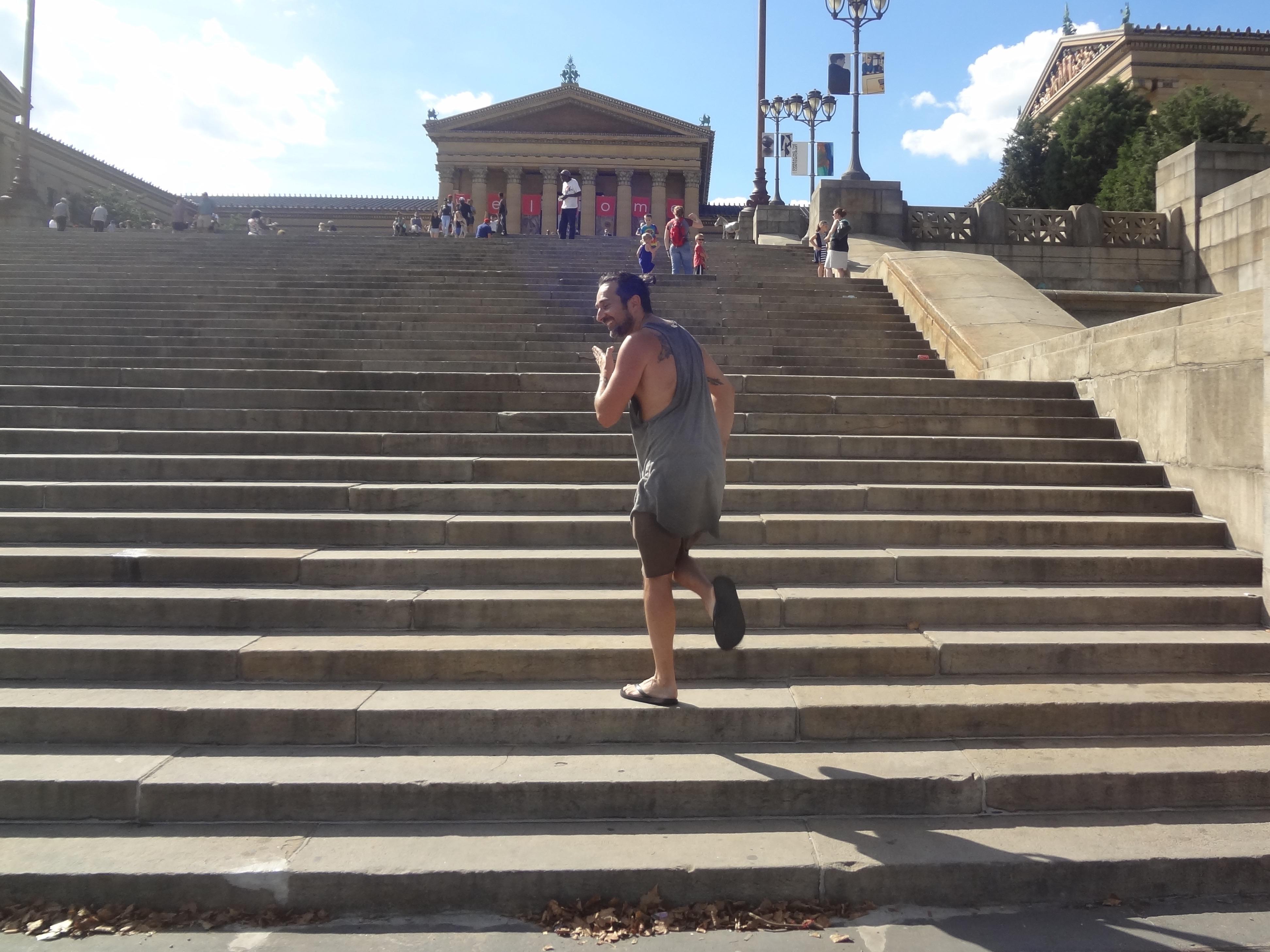 Simone as Rocky @ Philadelphia