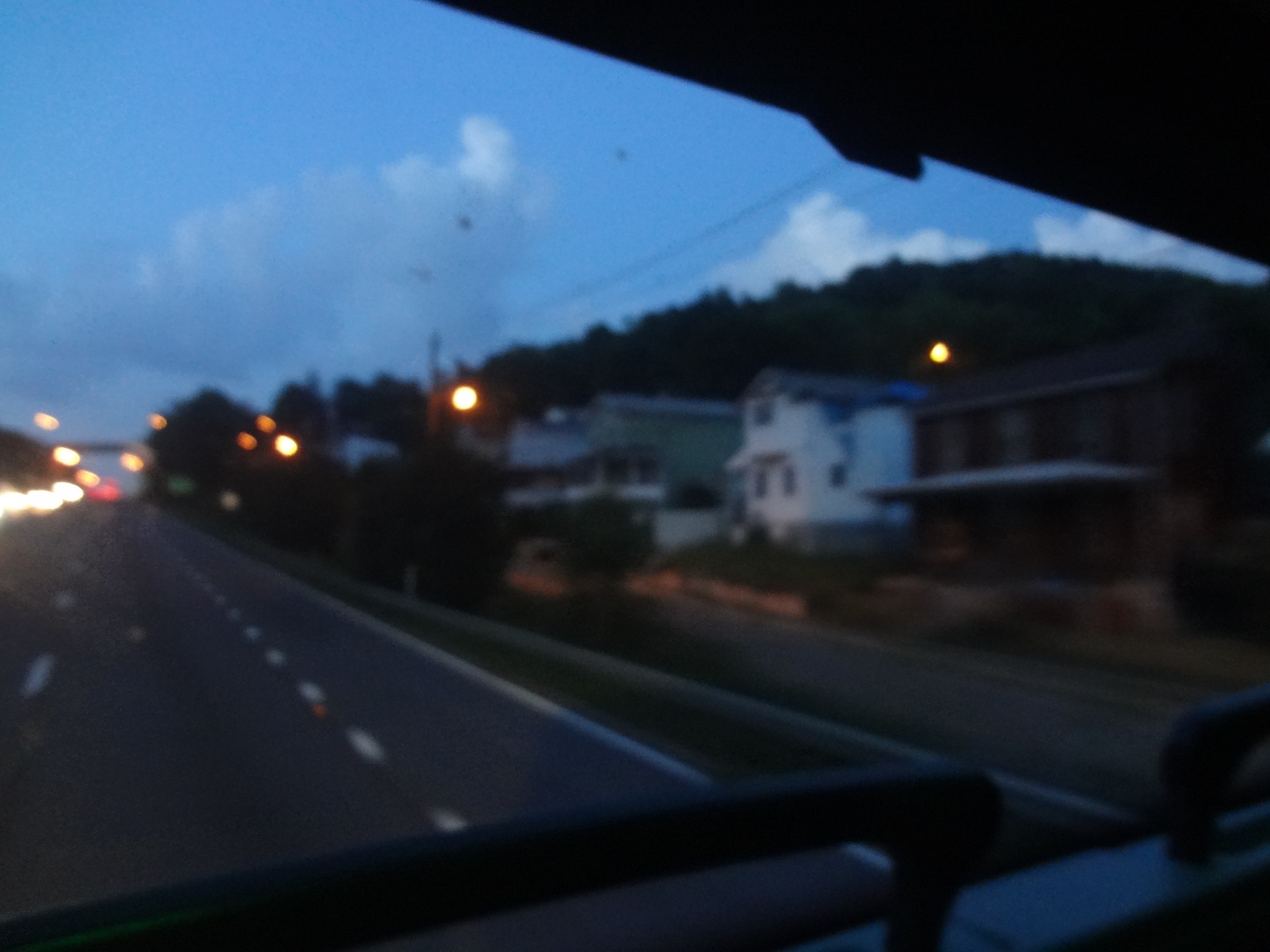 Going to Washington by bus