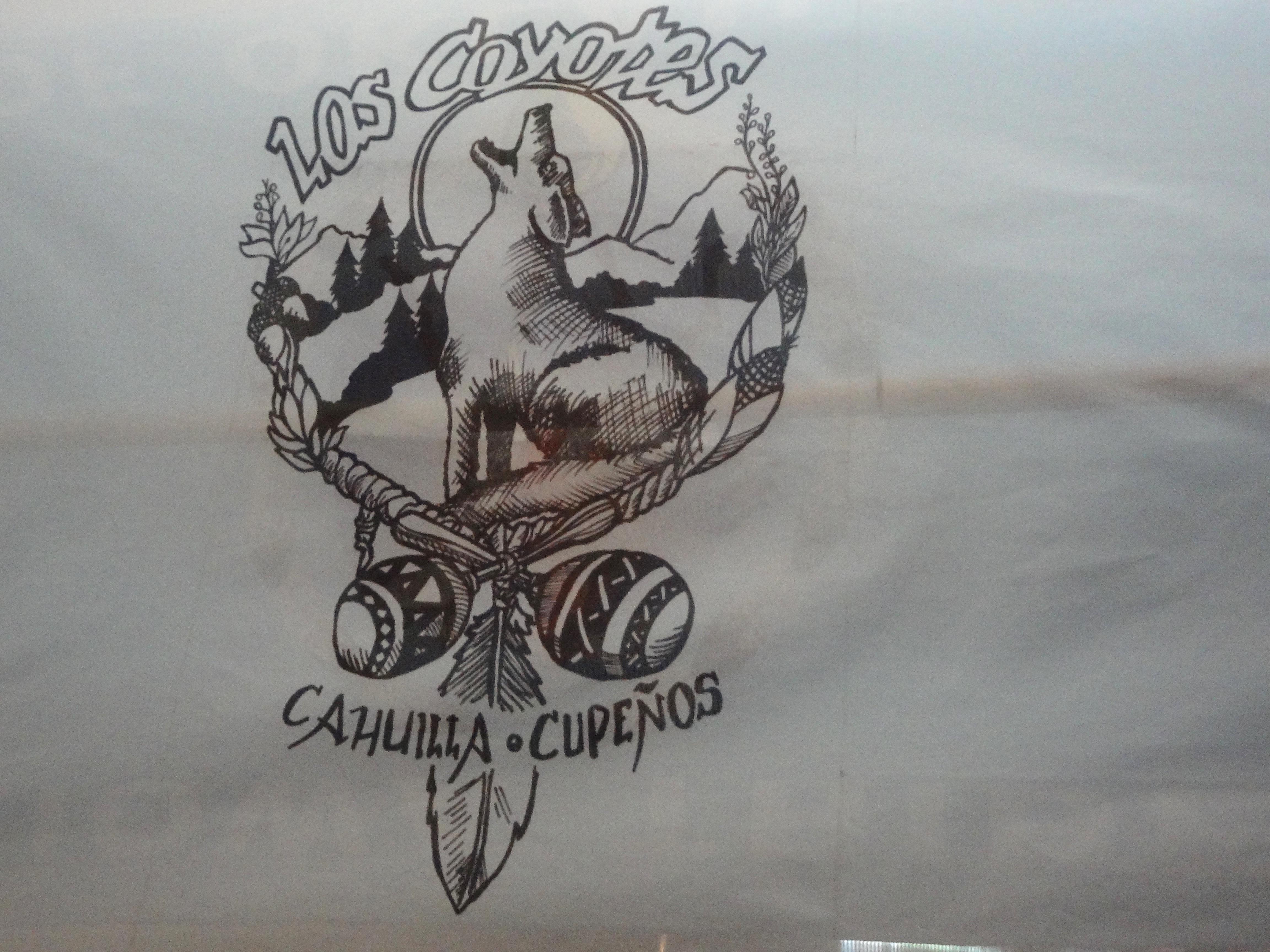 Los Coyotes Flag