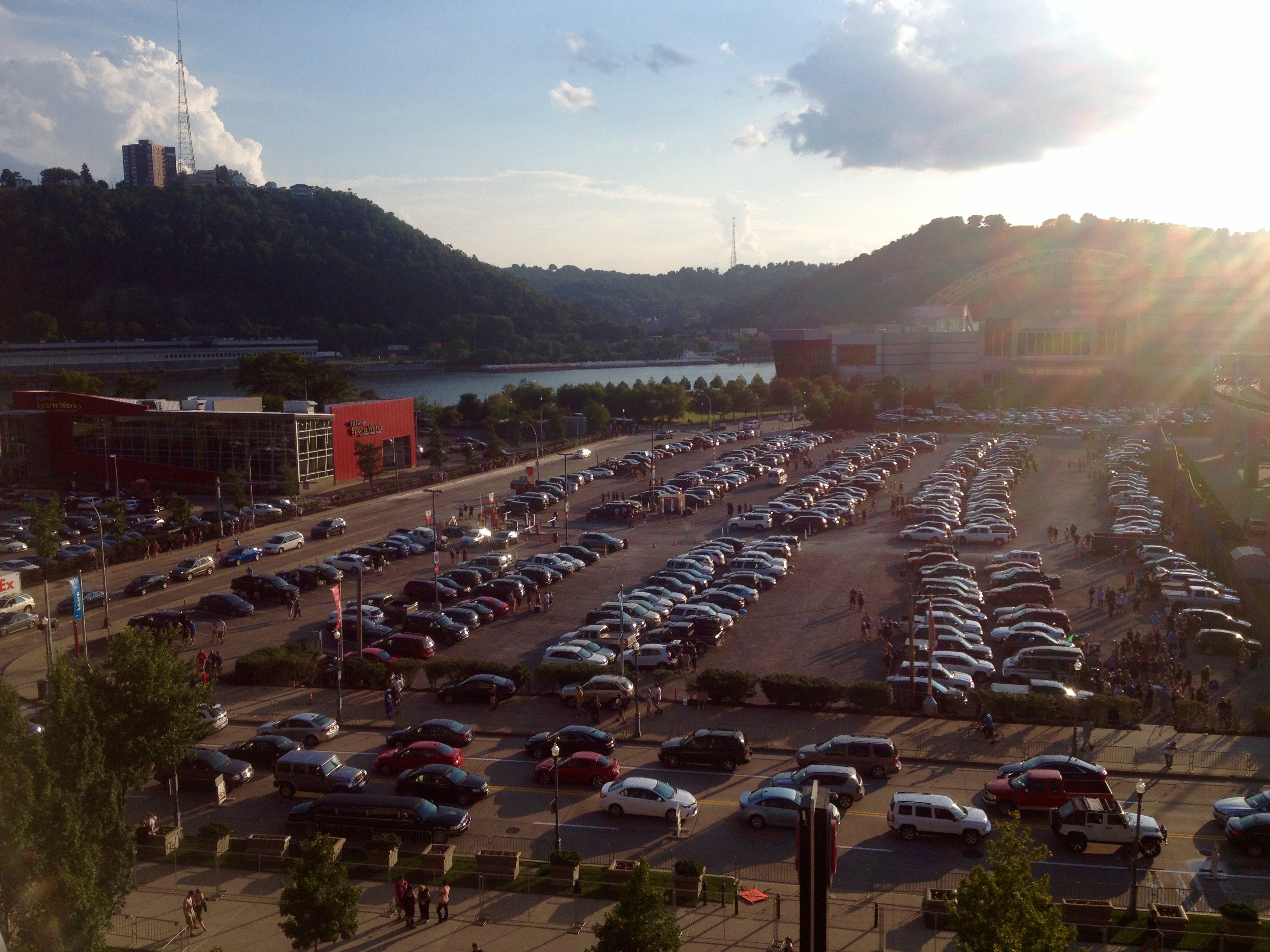 View from the Heinz Field @ Pittsburgh