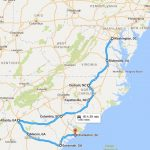 Bus ride from Washington DC to Charleston : on the road