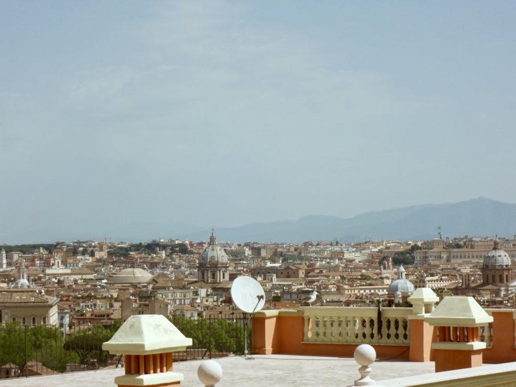 Rome in April