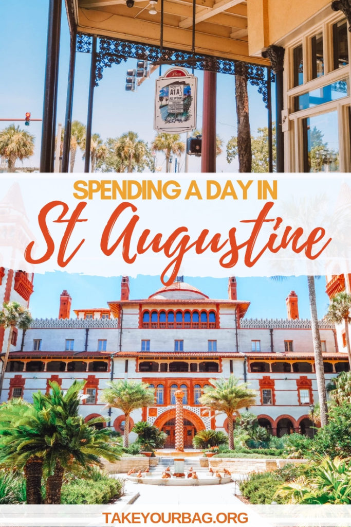 Spending a day in St Augustine Florida USA - What to do in Saint Augustine FL  Places to visit in Florida