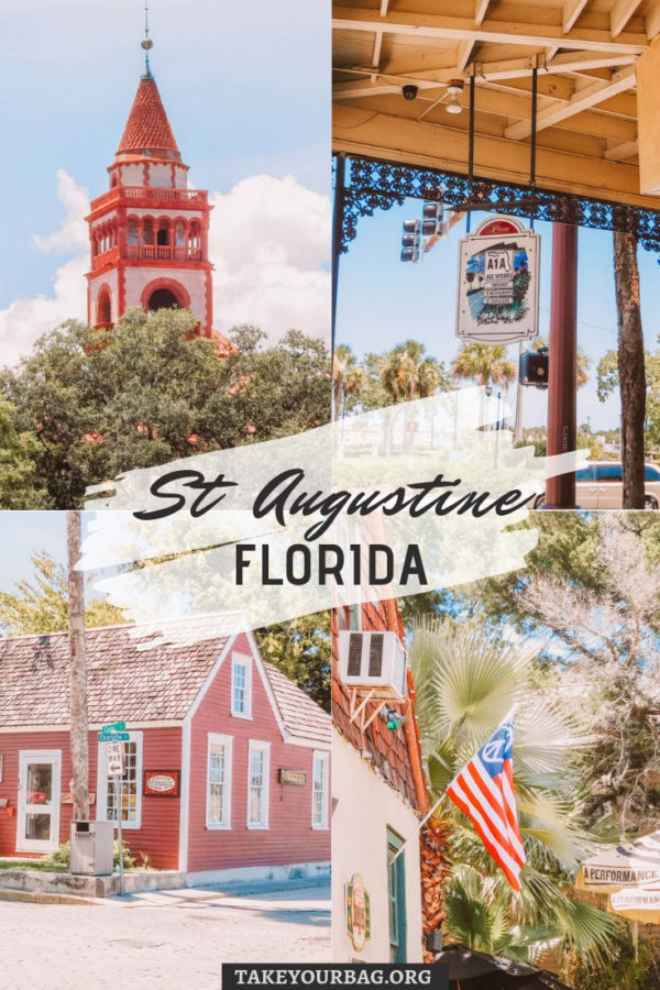 St Augustine Florida Pinterest Image