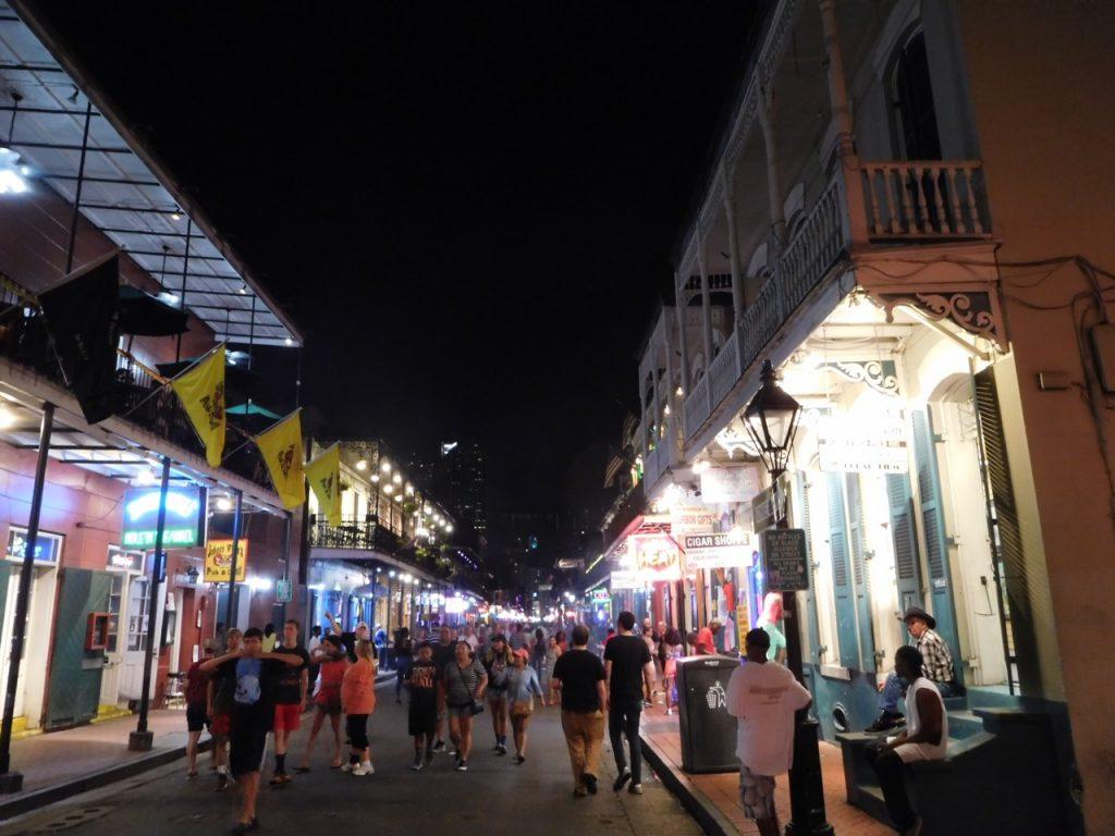 Bourbon Street da notte
