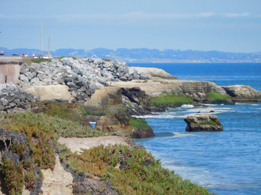 Cliff in Santa Cruz