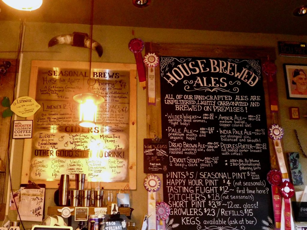 Bar in Santa Cruz