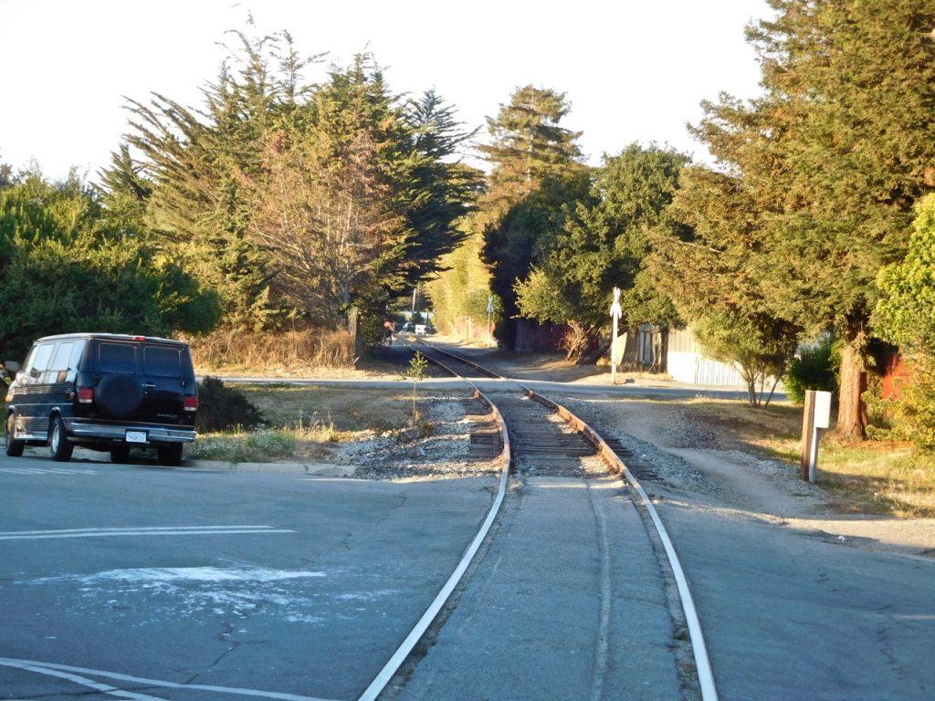 Railway in Santa Cruz