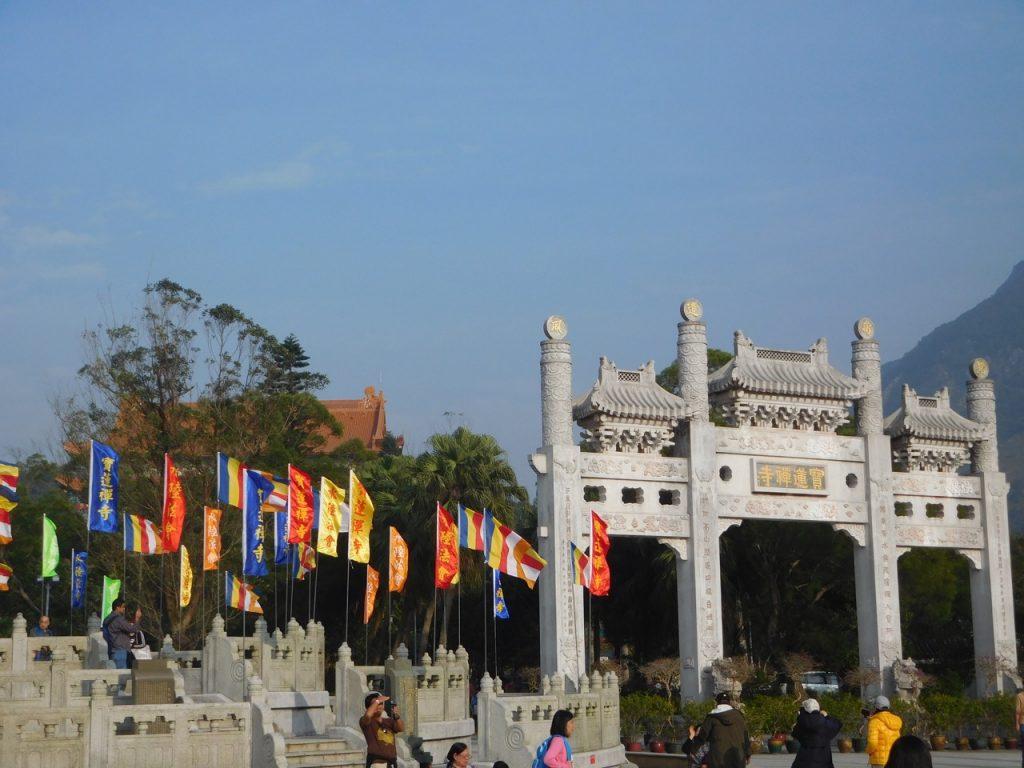Gates to Big Buddha