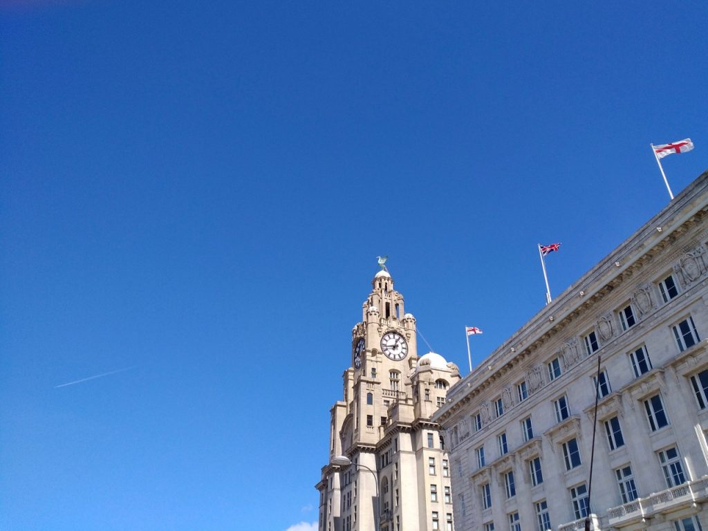 a beautiful day in liverpool