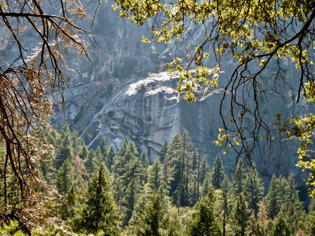 Yosemite Valleyon the way to Vernal Falls