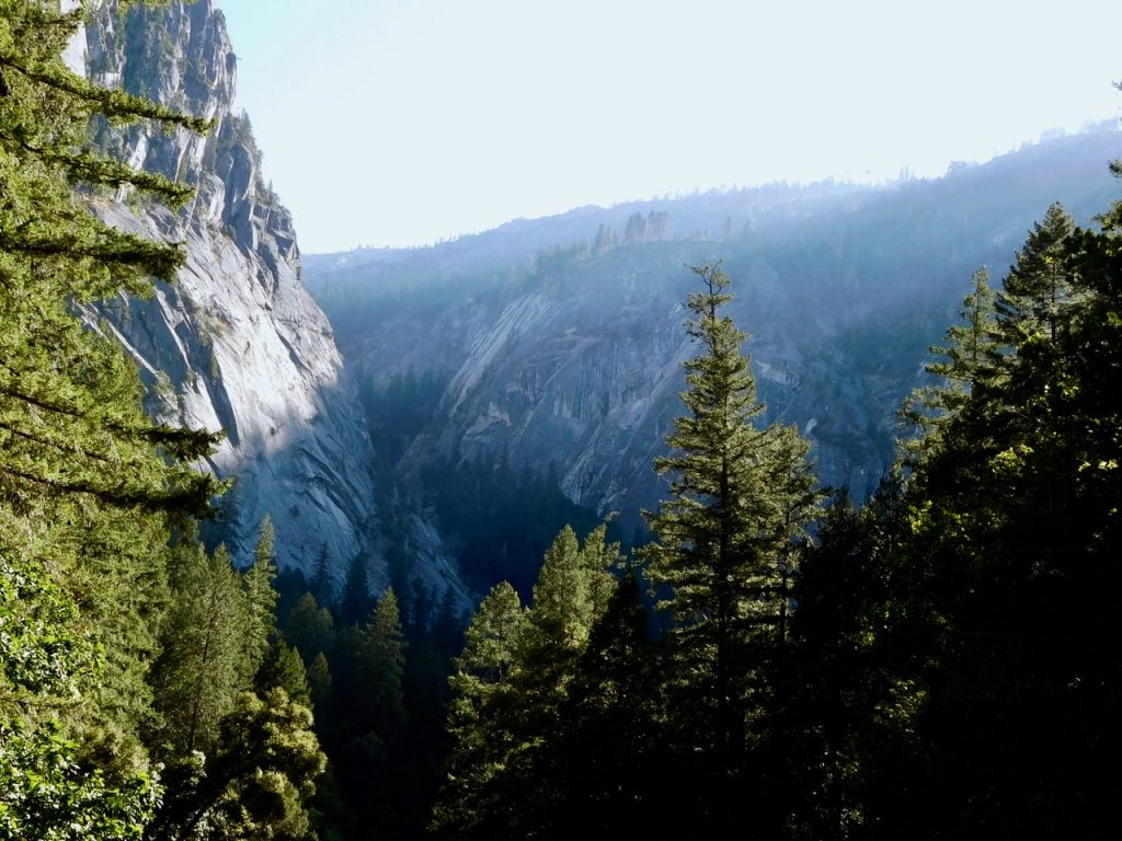 Yosemite Valley from the Mist Trail