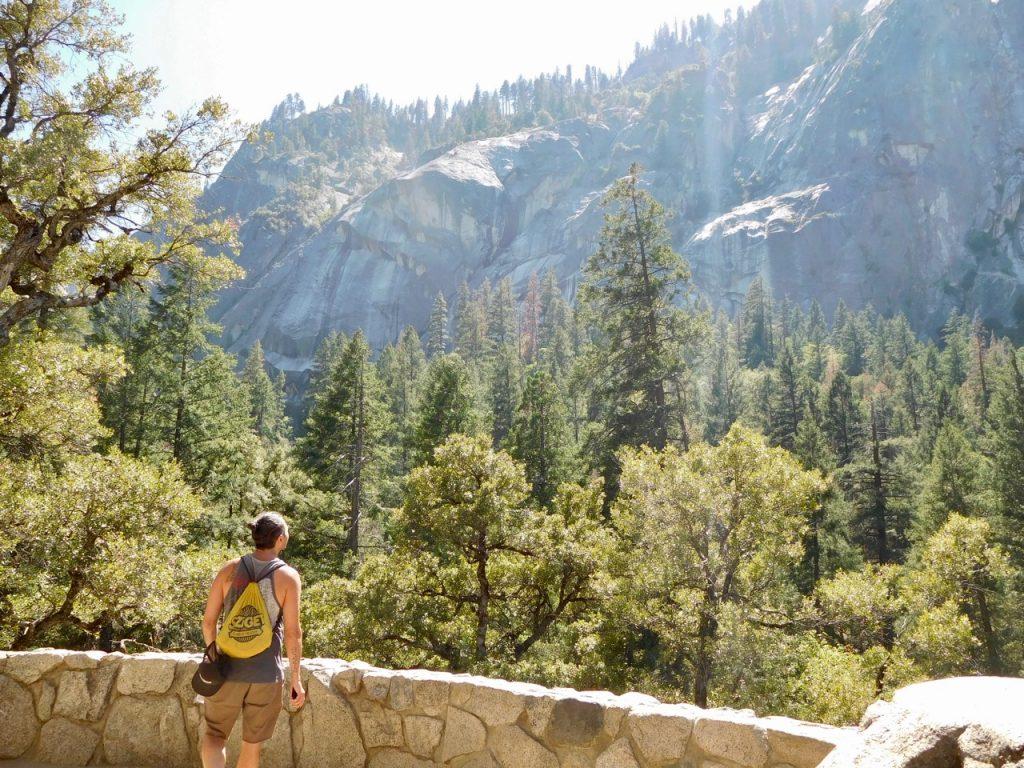 Simone on the Mist Trail
