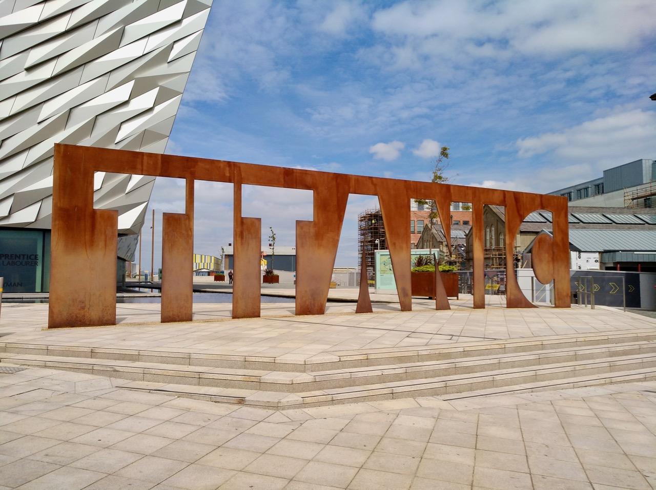 Visiting Titanic Museum in Belfast (1)