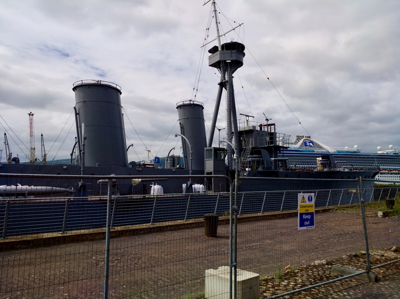 The Wee Tram Tour - Visiting the Titanic Museum in Belfast (5)