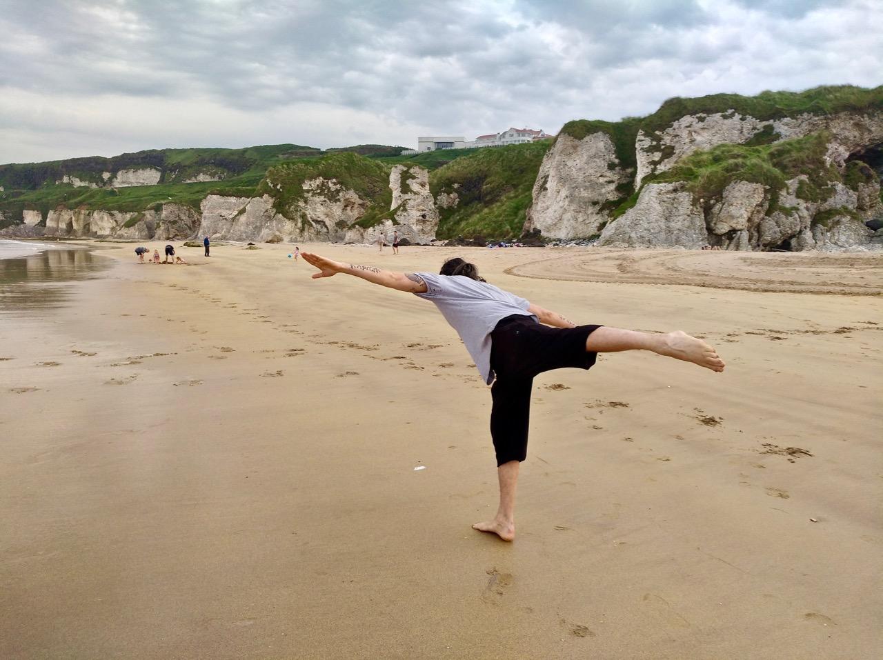 day trip to the beach from Belfast : Whiterocks beach in Portrush (17)
