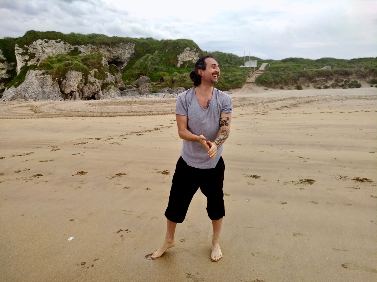 day trip to the beach from Belfast : Whiterocks beach in Portrush (18)