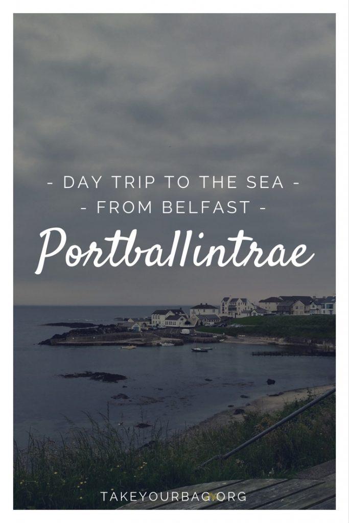 Portballintrae | Day trip to the sea from Belfast |Cutest town in Northern Ireland | Lissanduff Earthworks |Coast Causeway