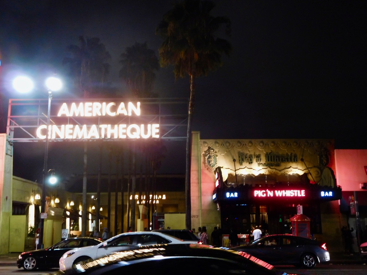 3 Days in L.A. - Hollywood Boulevard at night (1)