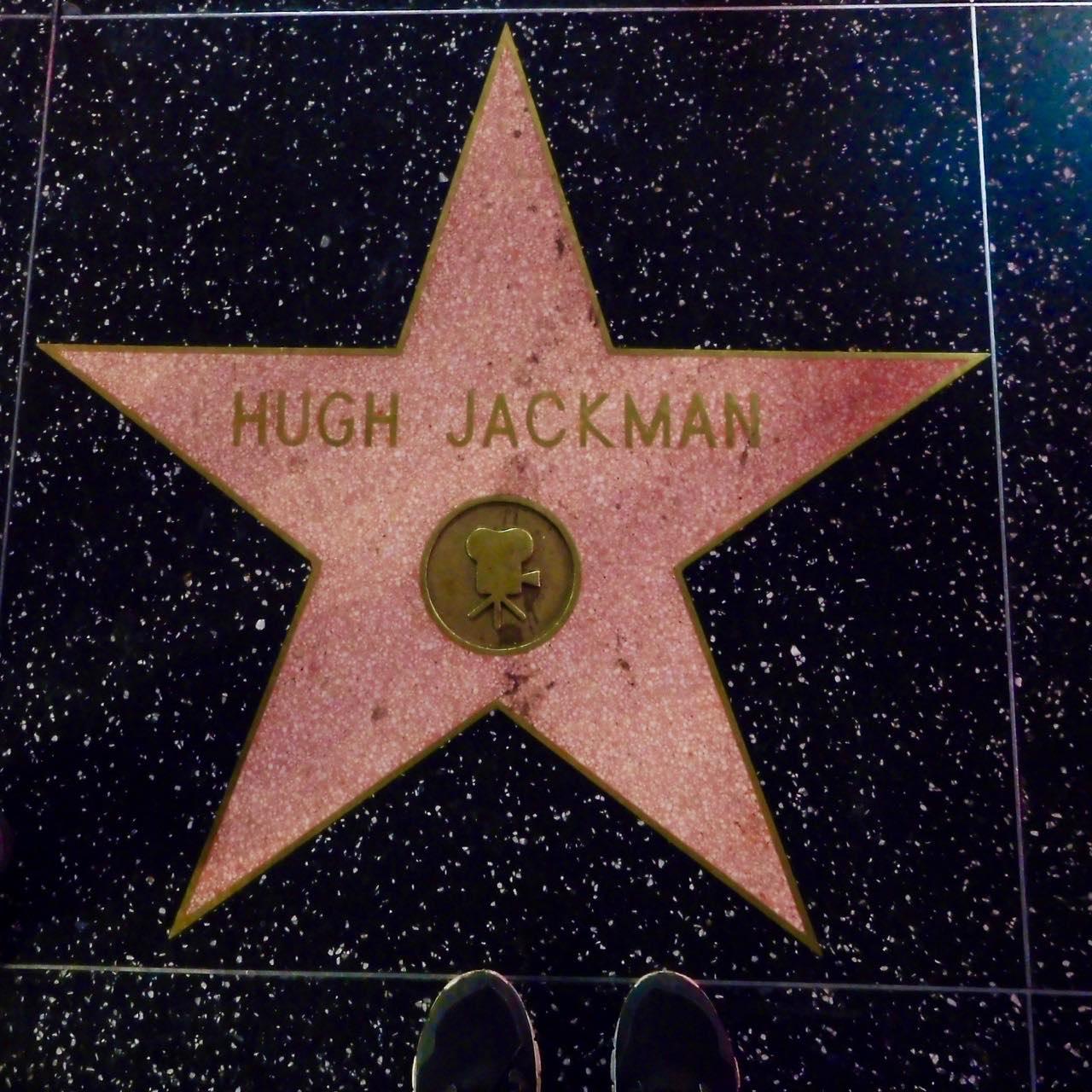 3 Days in Hollywood - Hollywood Boulevard Hugh Jackman Star